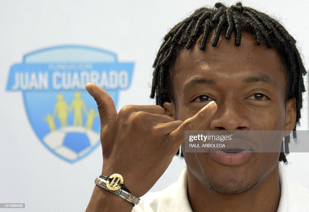 FBL-WC-2014-COL-PRESSER-CUADRADO : News Photo