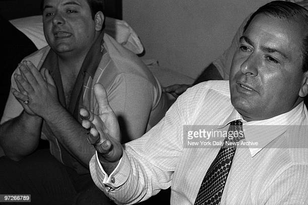 Colombo Denies Link to Mafia As son Anthony lends support at Park Sheraton Hotel Joseph Colombo says The FBI made me the boss of a Mafia family so...