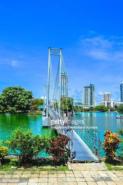 Colombo skyline Beira Lake