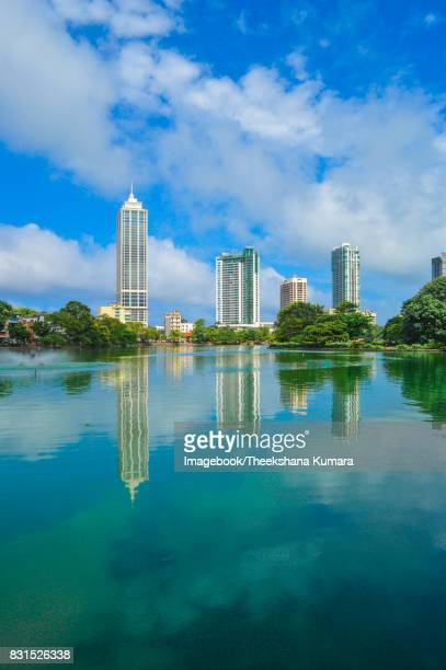 colombo skyline beira lake - imagebook stock pictures, royalty-free photos & images