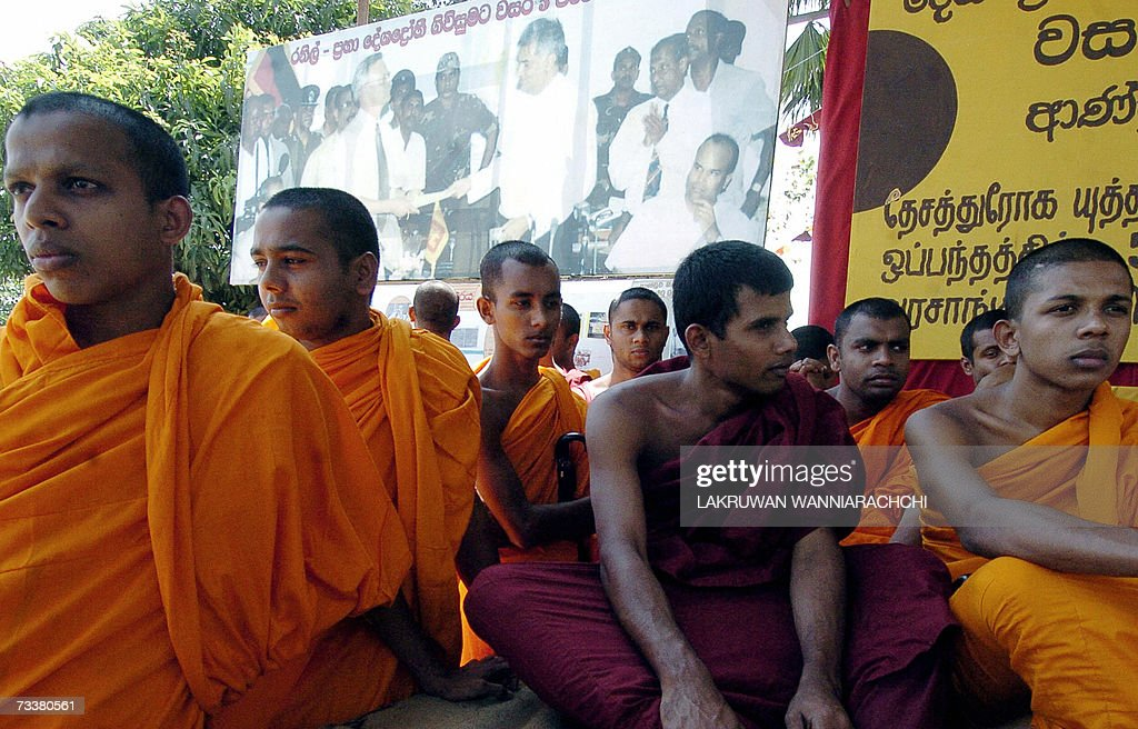 Sri Lankan Buddhist Monks Stage A Sit Do Pictures Getty Images
