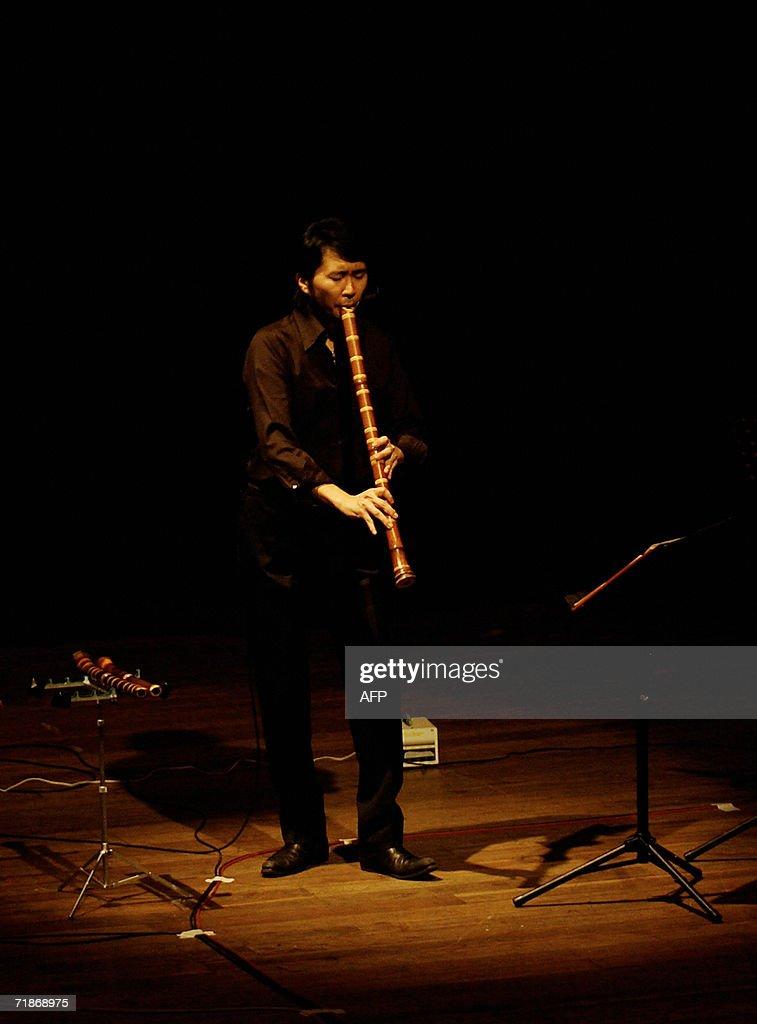 The Japanese musician Hiromu Motonaga pl : News Photo