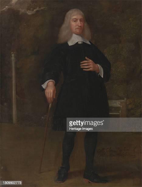 Colonel Alexander Popham, of Littlecote, Wiltshire, between 1660 and 1665. Artist Popham, Alexander. .