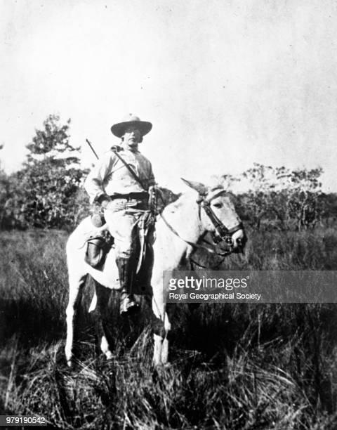Colonel Fawcett just before he ventured into the Xingu jungles Brazil 1925