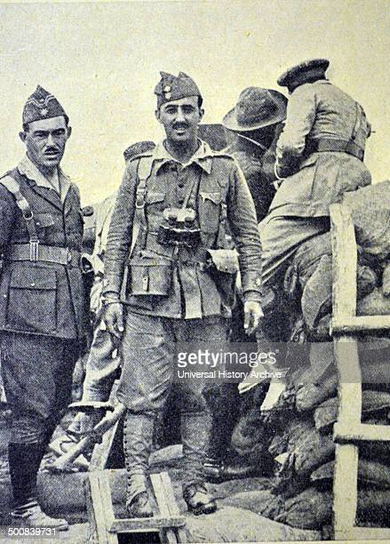 Colonel Francisco Franco as commander of the Spanish foreign legion
