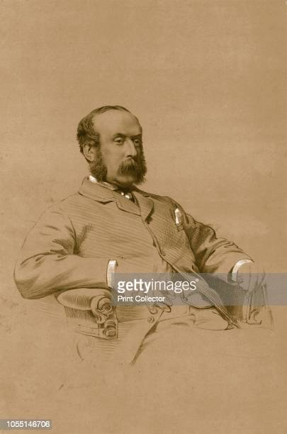 Colonel Gunter', 1879. Sir Robert Gunter, 1st Baronet , property developer, agriculturalist. From The Sporting Gazette and Agricultural Journal, 13th...