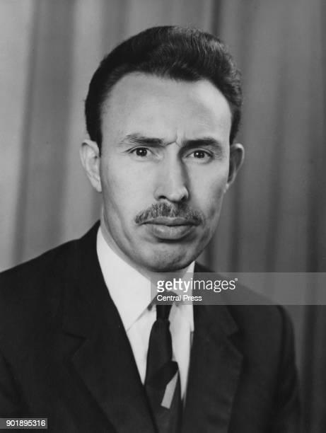 Colonel Houari Boumédiène the Algerian leader January 1972