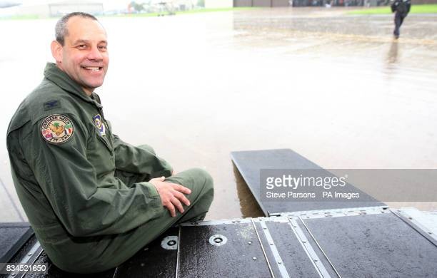 Colonel Joe Dill from the United States Air Force who is in charge at RAF Fairford Gloustershire
