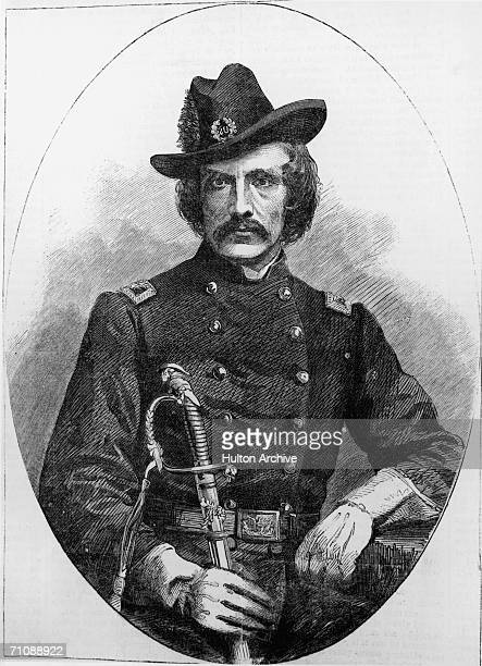 Colonel John O'Mahony formerly Head Centre of the American branch of the Fenian Order and elected its President in 1863 From a photograph by Barcalow...
