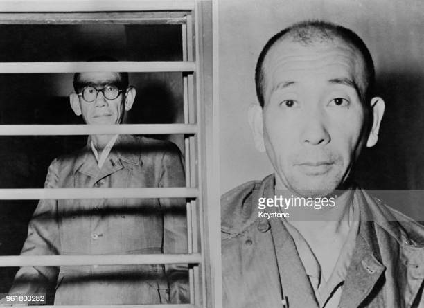 Colonel Kingoro Hashimoto of the Imperial Japanese Army and Colonel Akira Nagahama Commander of the Japanese secret police in the Philippines await...