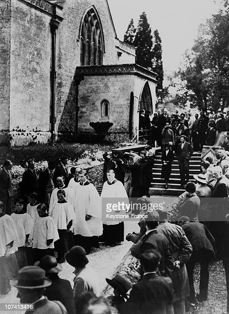 Colonel Lawrence Funeral In Moreton On May 22Th 1935