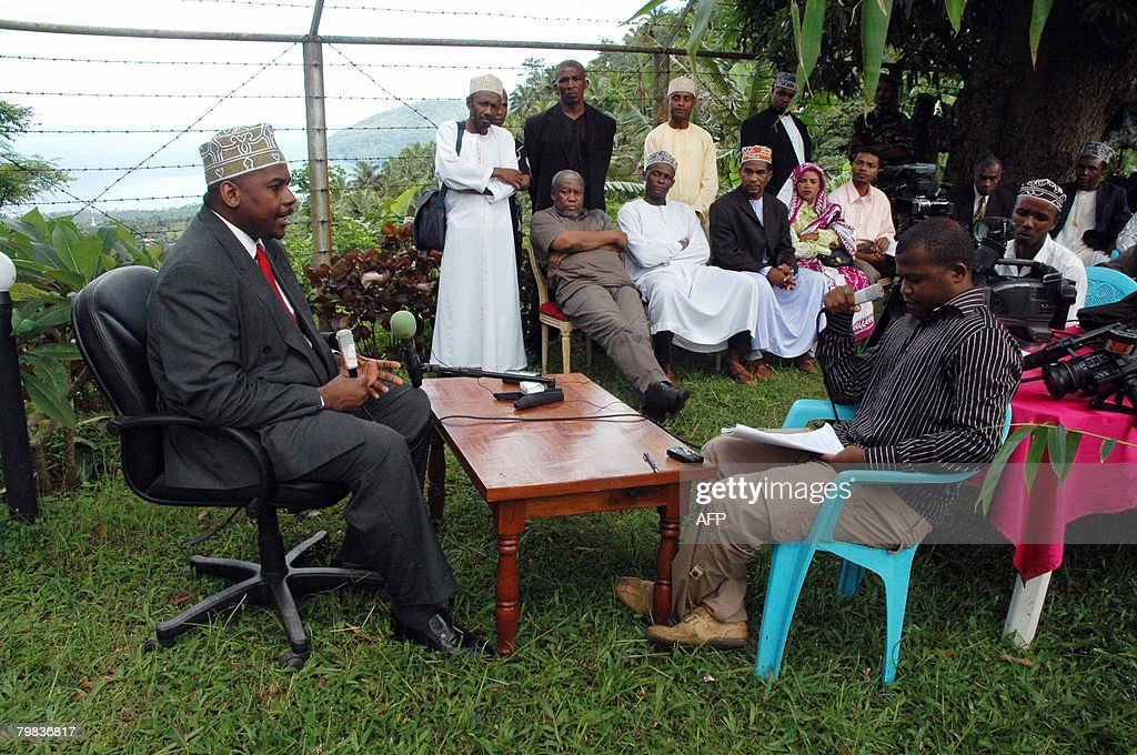 Colonel Mohamed Bacar speaks to journali : News Photo