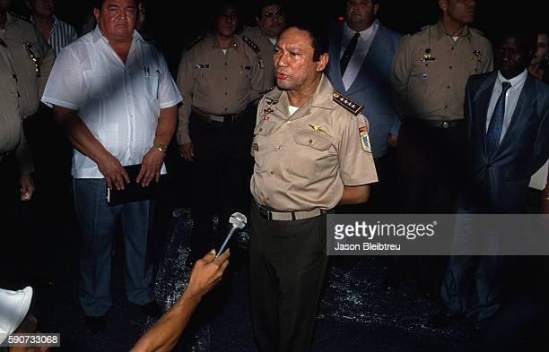 Colonel Noriega Press Conference