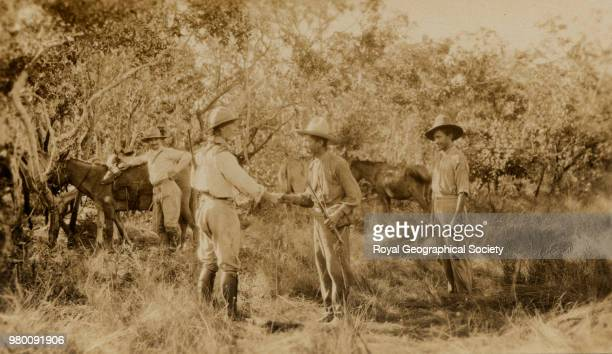 Colonel Percy Harrison Fawcett This photograph may have been taken in Mato Grosso Brazil Brazil 1925