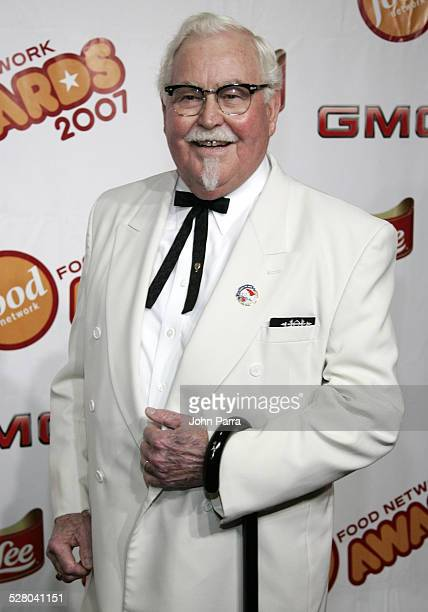 Colonel Sanders of KFC during 6th Annual Food Network Wine Food Festival Food Network Awards Show Arrivals with Catherine Zeta Jones Rachael Ray and...