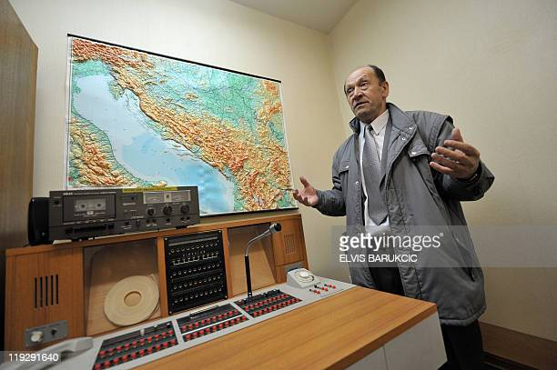 Colonel Serif Grabovica who was in charge along with other soldiers of guarding former Yugoslavia's iconic communist leader Josip Broz Tito's nuclear...