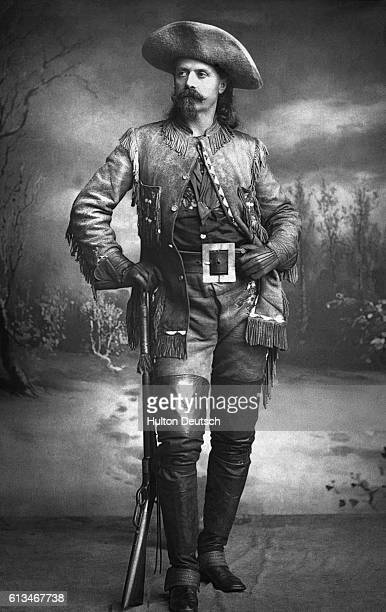 Colonel William Frederick Cody also known as Buffalo Bill the American scout and performer