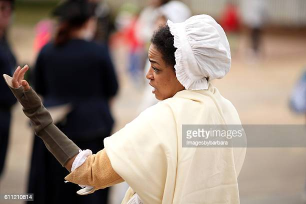 colonial actor - colonial williamsburg stock photos and pictures