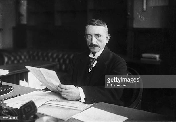 Colonial administrator Dr Heinrich Albert Schnee circa 1915 From 1912 to 1918 Schnee was Governor of German East Africa
