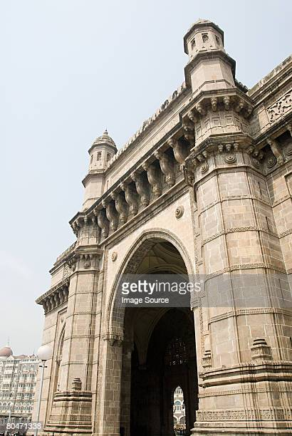 Colonial archway in mumbai