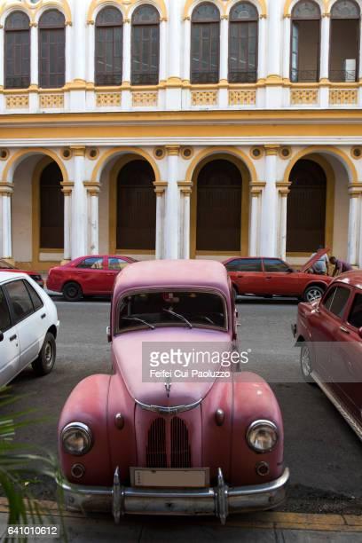 Colonial building of Prado Havana in Cuba