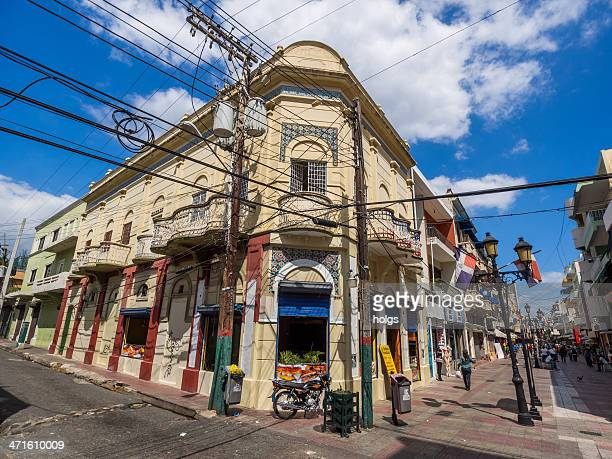 colonial district, santo domingo, dominican republic - santo domingo dominican republic stock pictures, royalty-free photos & images