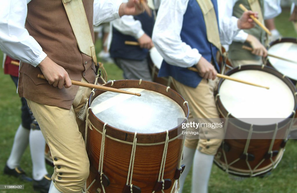 Colonial Drum Corp : Stock Photo