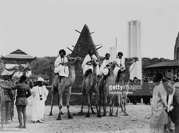 Colonial Exhibition In Vincennes On May 1931.