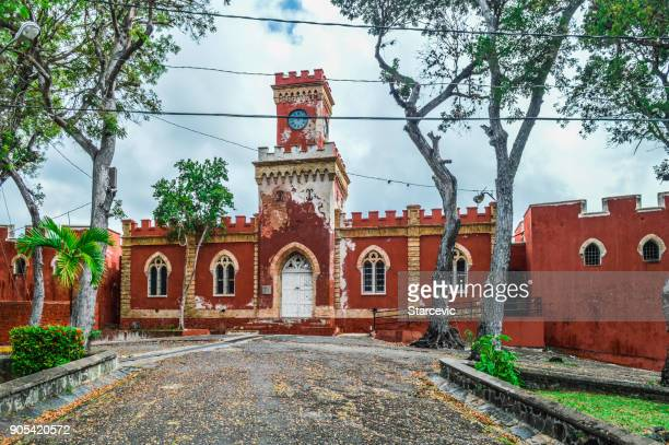 Colonial fort in St. Thomas - Virgin Islands