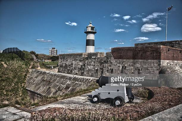 colonial fort - southsea stock pictures, royalty-free photos & images