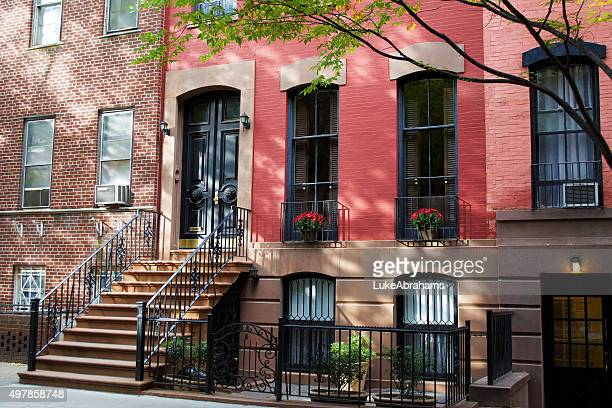 Colonial Homes in Greenwich Village New York City
