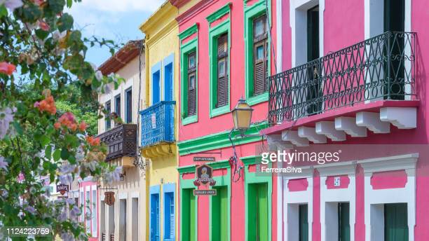 Colonial houses from Olinda  city