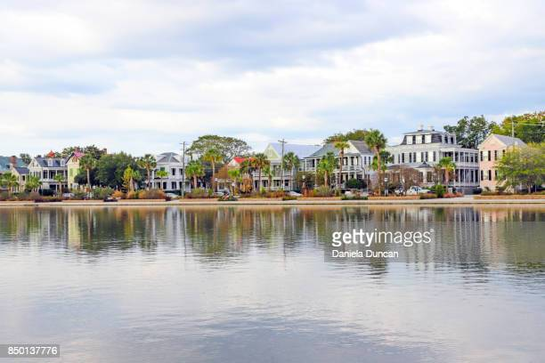 colonial lake - historic district stock pictures, royalty-free photos & images