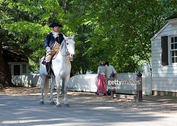 colonial life in williamsburg, va - colonial williamsburg stock photos and pictures