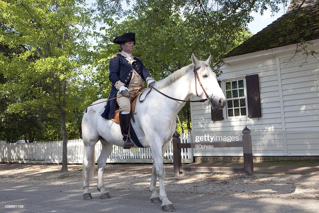 Colonial Life in Williamsburg, Va : Stock Photo