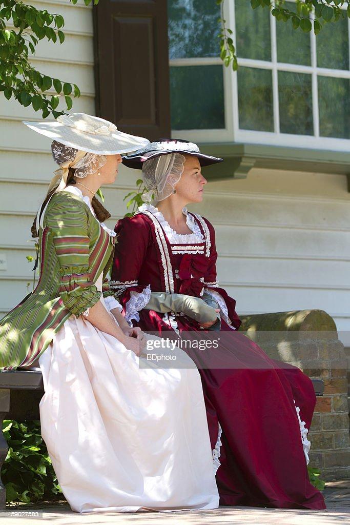 Colonial life in Williamsburg, Va : Stock Photo