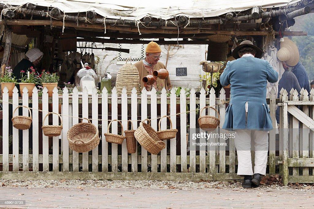 Colonial Market : Stock Photo