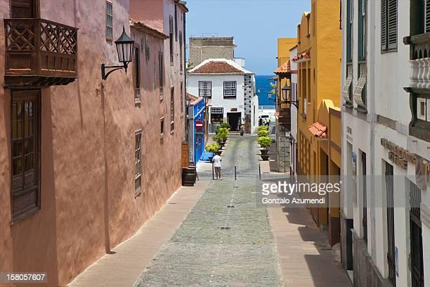 Colonial street in Garachico.