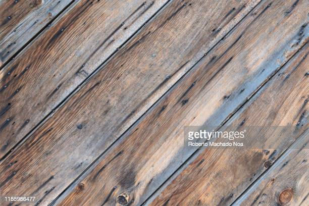 colonial style floor made of planks of wood - the slants stock pictures, royalty-free photos & images