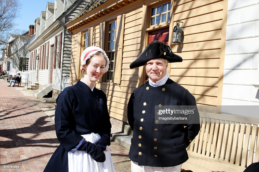 Colonial Times : Stock Photo