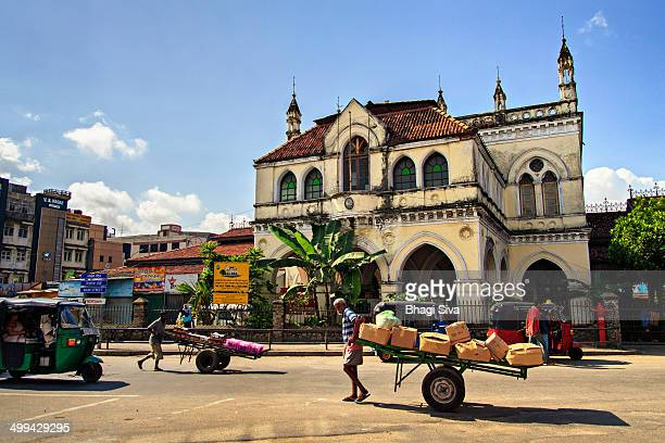Colonial Town Hall in Colombo - Sri Lanka