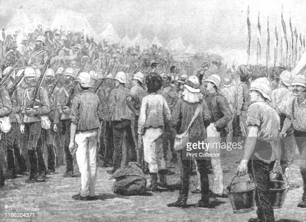Colonial Troops in the Soudan War 188385 New South Wales Infantry Marching into Camp at Suakim March 29 1885' The Mahdist War was fought between...