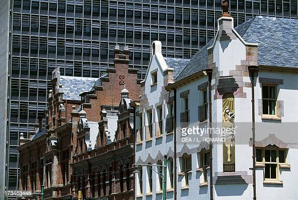 Colonial-era buildings, Pretoria, Gauteng, South Africa.