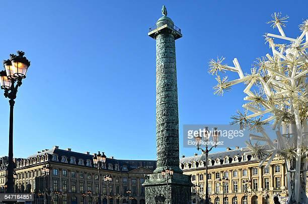 colonne vendôme - ヴァンドーム広場 ストックフォトと画像
