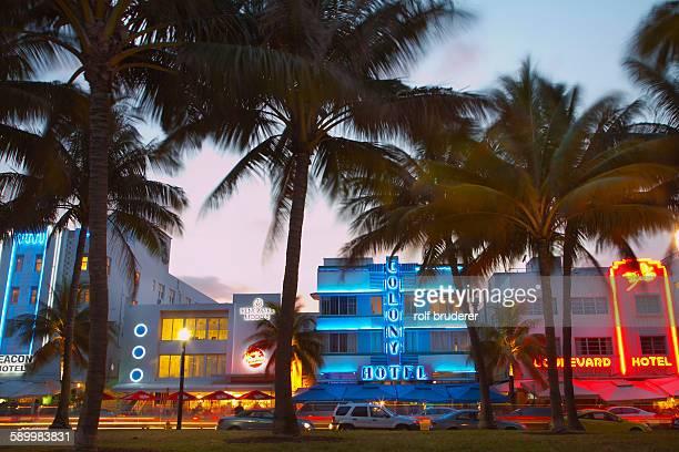 Colony Hotel in Miamis Art Deco District