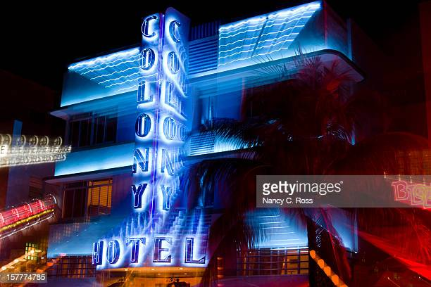 Colony Hotel, South Beach, Miami, Florida