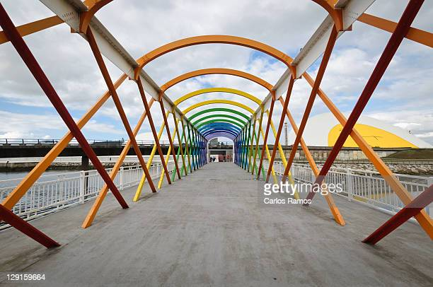 color bridge - carlos aviles stock pictures, royalty-free photos & images