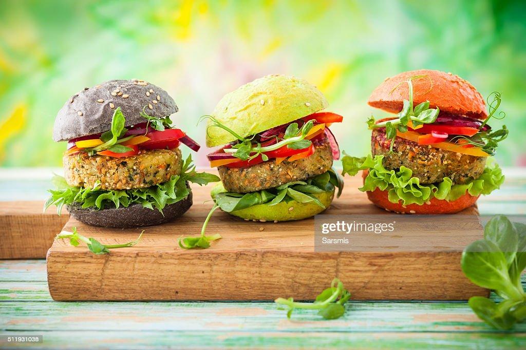 color burger : Stock Photo
