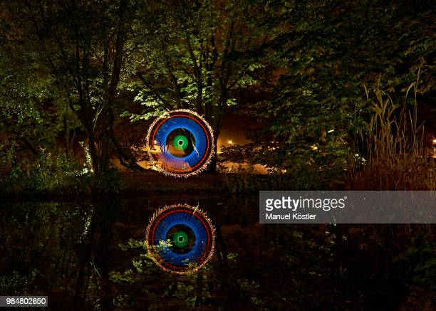 Color Circle Reflection