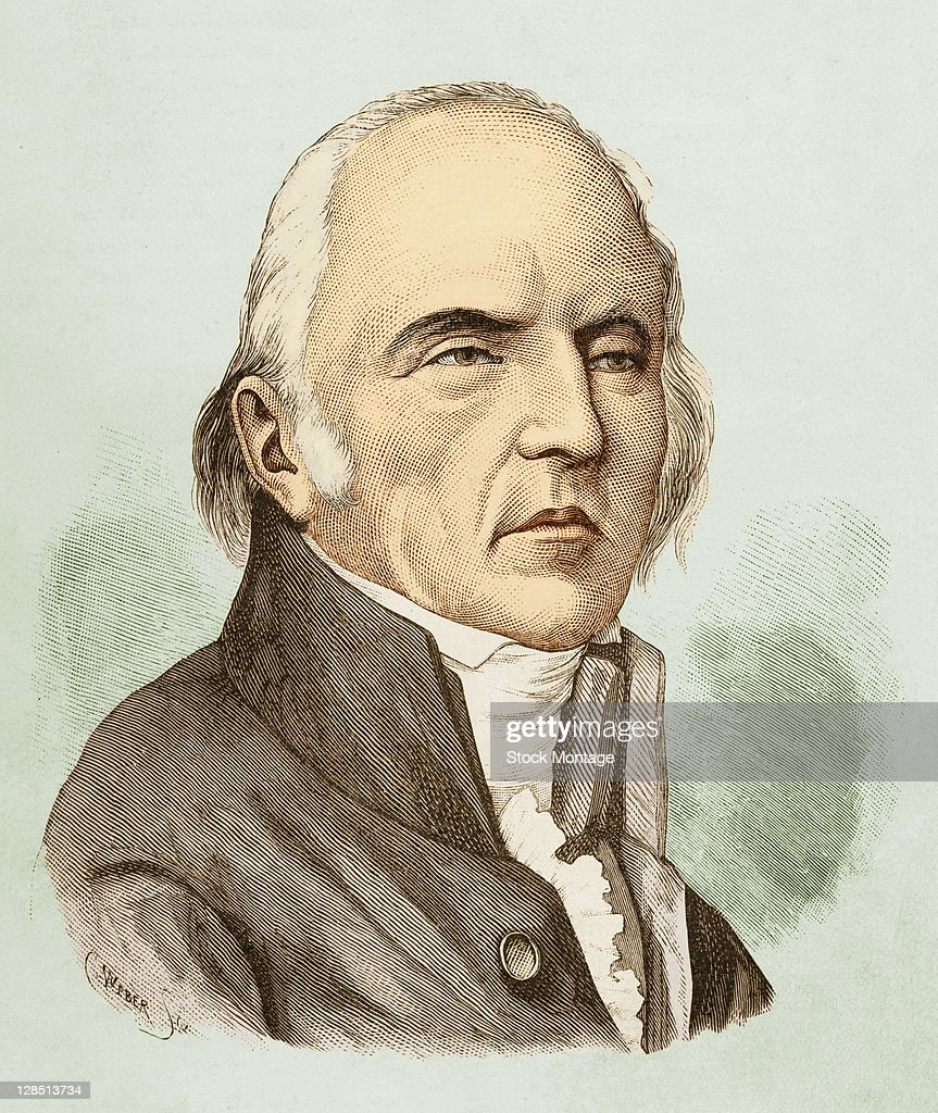 Portrait Of Jean Baptiste Lamarck : News Photo